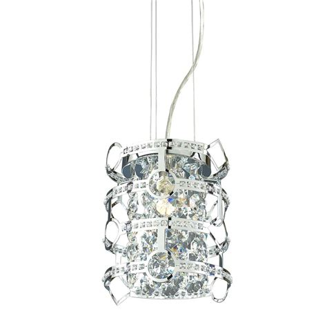 Style Selections Pendant Light Shop Style Selections Kentley 8 In W Chrome Standard Pendant Light With Metal Shade At Lowes