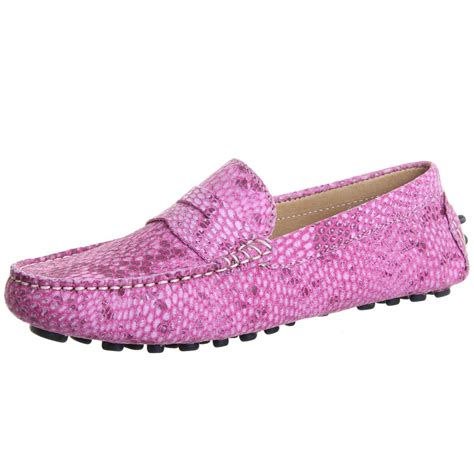 pink loafers chatham marine tropez s driving style loafer in