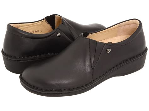 Finn Comfort Newport 2527 Black Womens Shoes