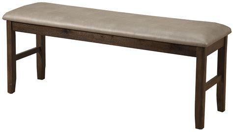 walnut dining bench emery walnut dining bench from alpine coleman furniture