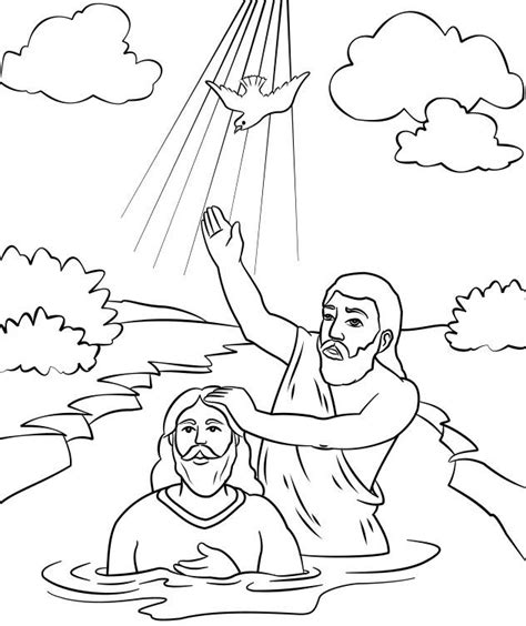 the baptist coloring page the baptist coloring page http designkids info