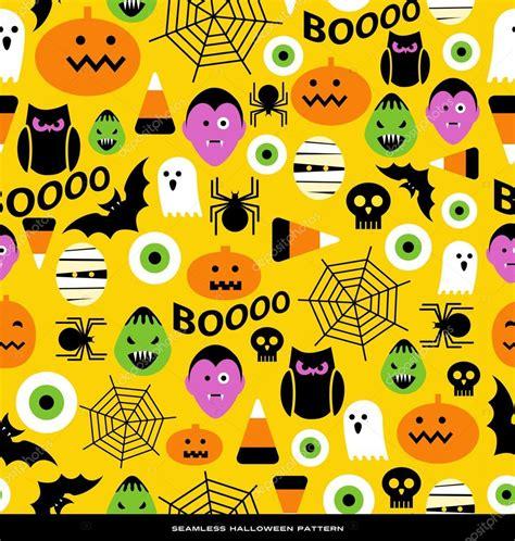 pattern html special characters 귀여운 아이콘 캐릭터와 완벽 한 할로윈 테마 패턴 스톡 벡터 169 teddyandmia 88866028
