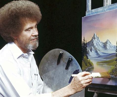 bob ross painting twitch bob ross finds new audience in medium