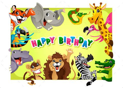 25 Printable Birthday Card Templates Sle Templates Child Birthday Card Template