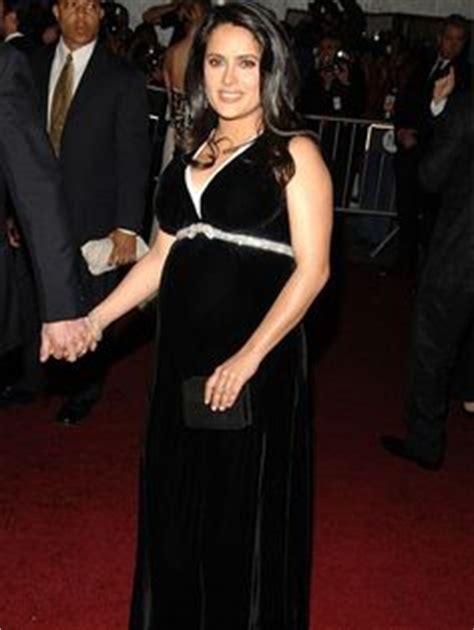Salma Hayek Baby Bump by Maternity Formal Fashion On