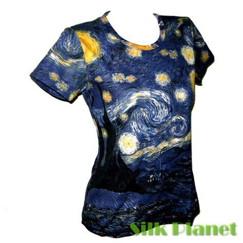 Dnf T Shirt Starry Black by Vincent Gogh Starry Boho Top T Shirt