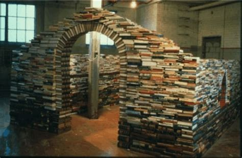 How To Make A Paper Fort - recycling and reusing books make money