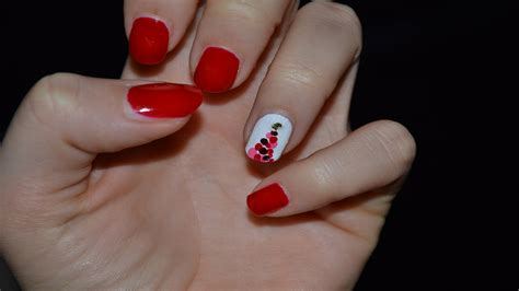 tutorial nail art natalizie christmas nails unghie natalizie tutorial 2 youtube