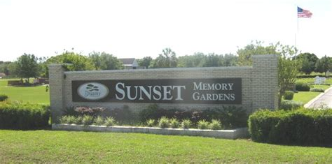 Sunset Gardens Cemetery by Sunset Memory Gardens Cemetery Thonotosassa Florida