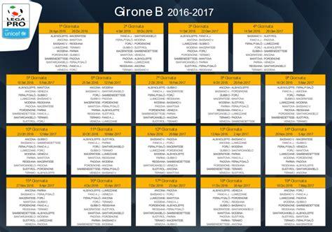 calendario calcio inglese 2016 2017 calendari completi lega pro 2016 17 1 176 samb padova