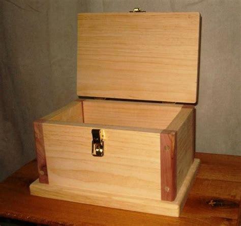 wooden box plans   build  wooden box