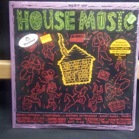 best of house music sealed 12 quot 2xlp various artists best of house music 1988 profile records vinylbay777