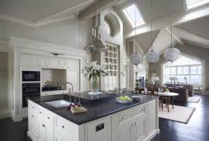Kitchen Island Furniture With Seating wall morris design new england style house kerry