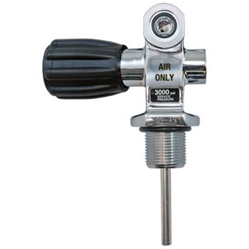 Thermo Deluxe K Valve For 3000 Psi Aluminum Cylinders
