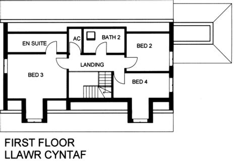 4 Bedroom Bungalow Floor Plans Ffynnon 4 Bedroom Timber Frame Dormer Bungalow With
