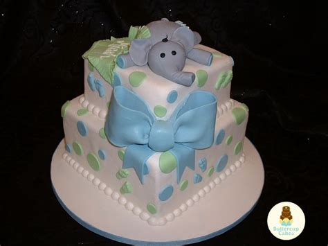 Baby Shower Cakes With Elephants by Elephant Baby Shower Cake Baby Cakes