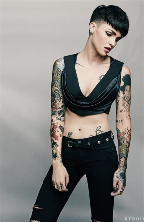 ruby rose tattoo ruby looks and style must see