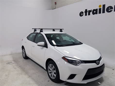 Roof Rack For Toyota Corolla Thule Roof Rack For 2010 Toyota Corolla Etrailer