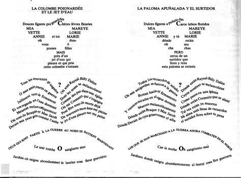 libro des troubadours apollinaire dadaismo constructivismo caligramas leger apollinaire mallarme huidobro lizzitsky matta t e n