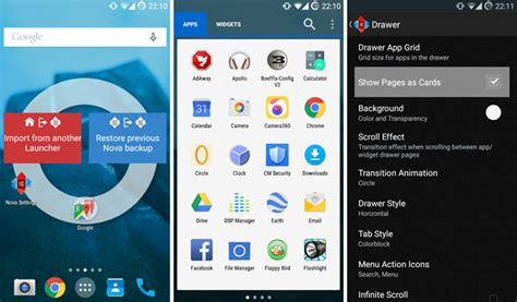 nova launcher themes marshmallow nova launcher 5 0 lollipop theme and white app drawer apk