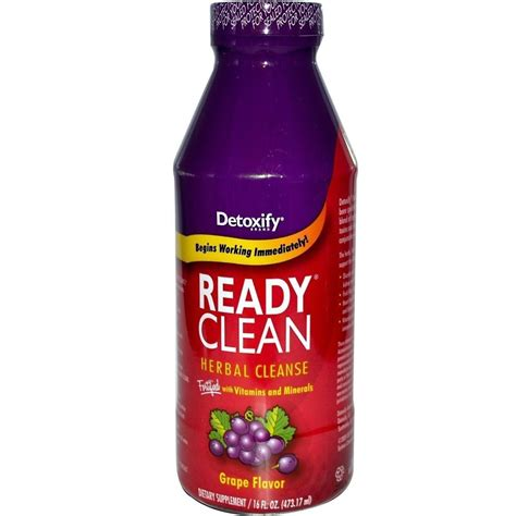 Does Ready Clean Detox Work For by Detoxify Ready Clean Grape Detox Drink 16 Fl Oz Free 2 3