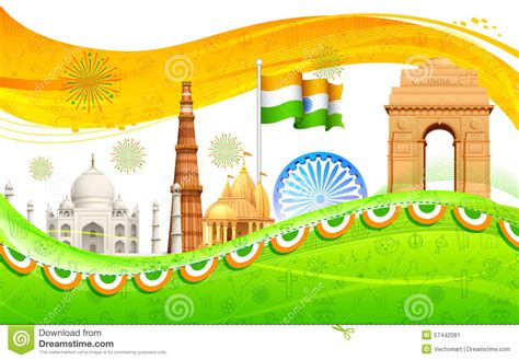 india background stock vector image