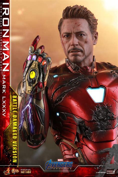 hot toys avengers endgame battle damaged iron man