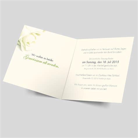 Hochzeitseinladung Silber by Hochzeitseinladungen Rosige Zukunft Silber