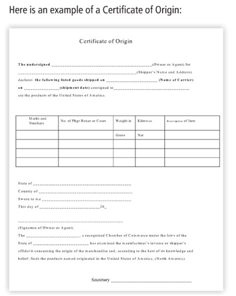 23 images of manufacturing affidavit form template