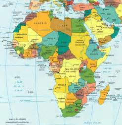 Country Map Of Africa by Gallery For Gt South Africa Map Countries