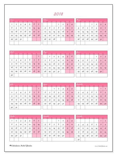 Calendario Anual 2018 25 Melhores Ideias De Calendario 2018 No