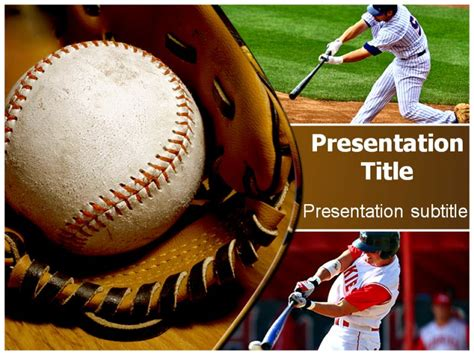 baseball powerpoint template free all about template