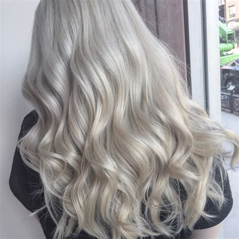 how to get icy silver hair icy silver hair hair co brooklyn