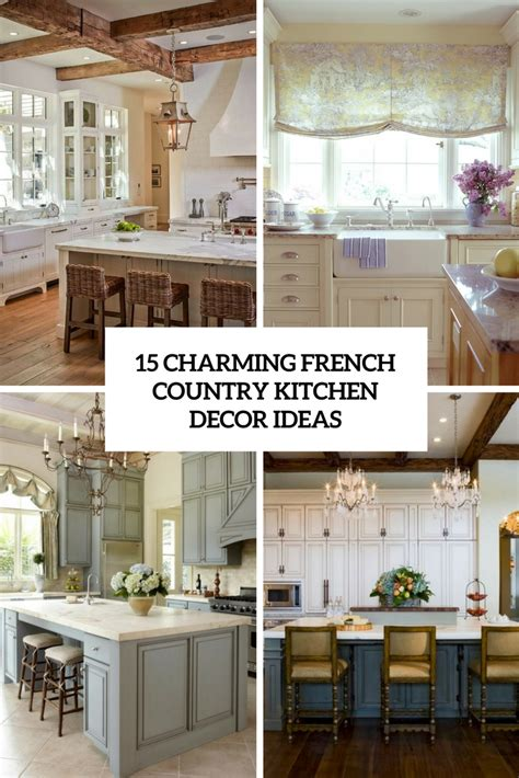 french country kitchen decor ideas kitchens archives shelterness