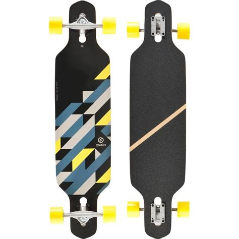 tavole longboard longboard drop beginner decathlon