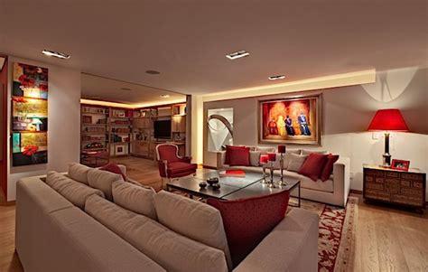 desain interior rumah warna merah warna merah untuk kesan mewah pada desain interior hunian