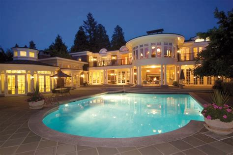 how many bedrooms does a mansion have most valuable house in burnaby