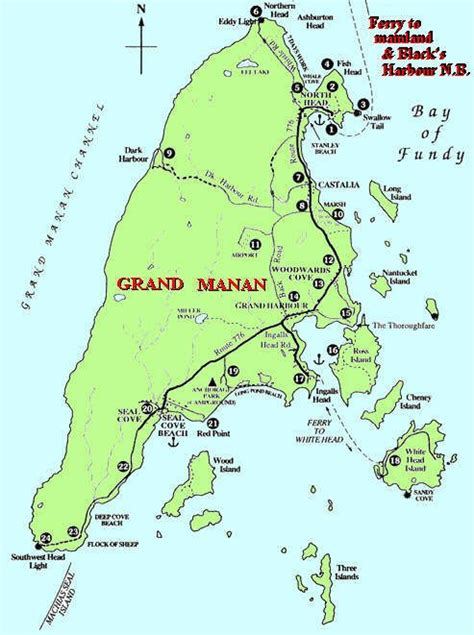 grand map images map of grand manan island on discover the best