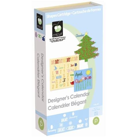 Calendar Cartridge Cricut Cricut Gt Designer S Calendar Cricut Cartridge A Cherry On Top
