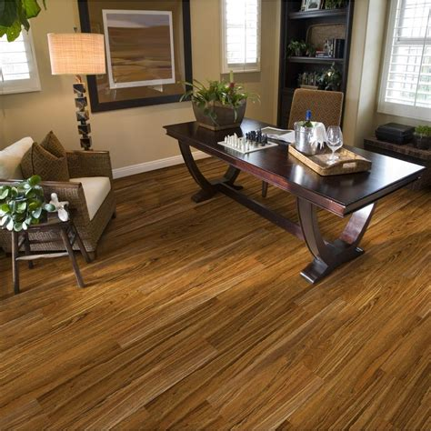 peru wooden allure vinyl plank flooring matched with tan