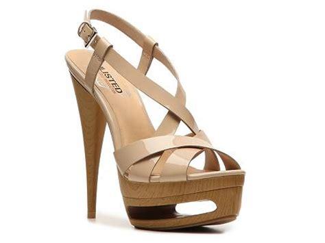 dsw platform sandals unlisted race me platform sandal dsw