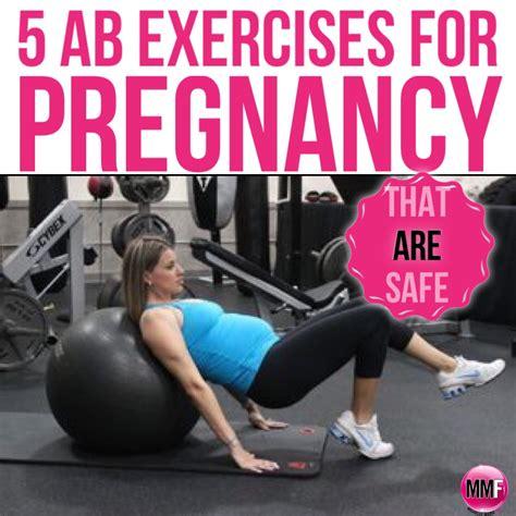 ab exercises  pregnancy