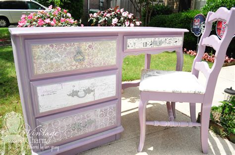 How To Decoupage On Furniture - how to decoupage drawer fronts vintage charm restored
