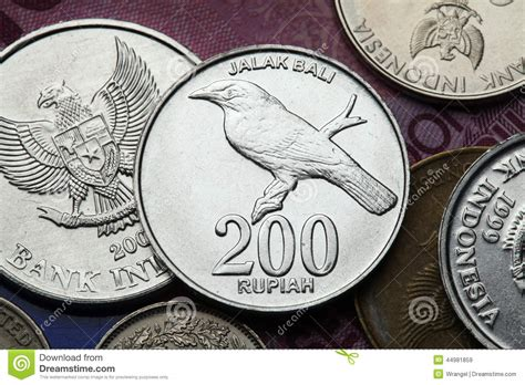 Coin Bali coins of indonesia stock photo image 44981859