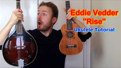 tutorial ukulele rise eddie vedder ukulele tutorial youtube
