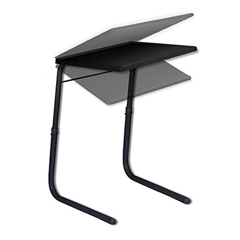 table mate ii folding tv tray black new ebay