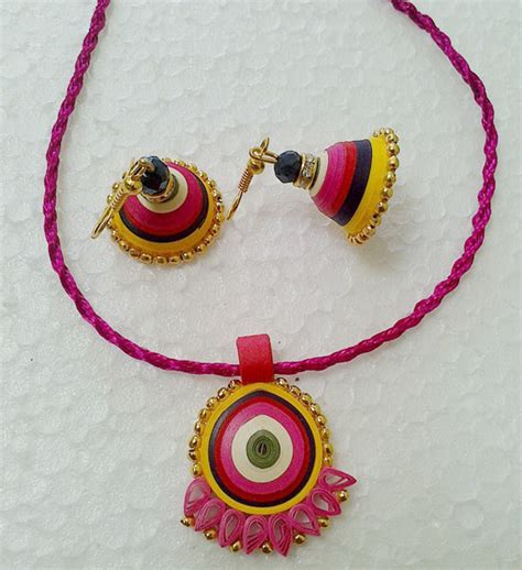 Jewellery With Paper - quilled paper jewellery jewelsome