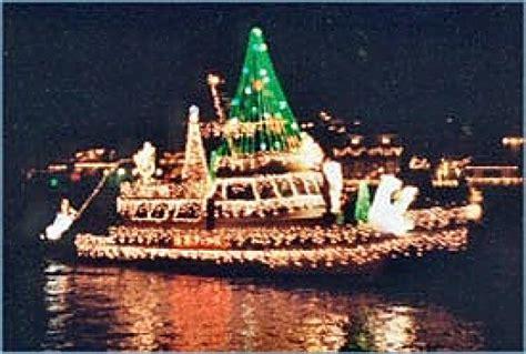 panama city beach christmas lights christmas boat parade of lights signal flag banner ib