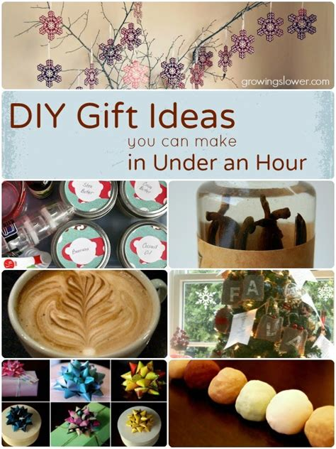 140 easy diy gift ideas in one hour