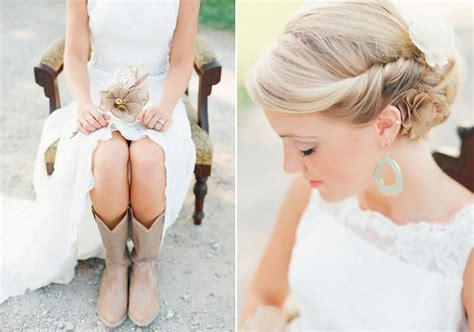 Vintage Rustic Wedding Hairstyles by Rustic Kentucky Wedding 100 Layer Cake